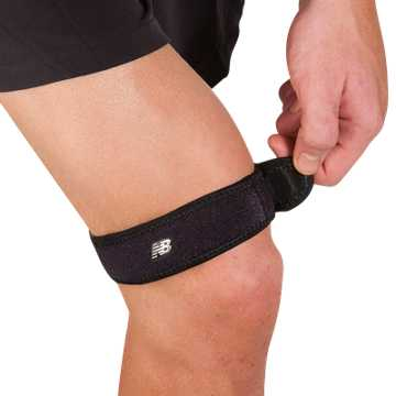 New Balance Adjustable IT Band Strap, Black