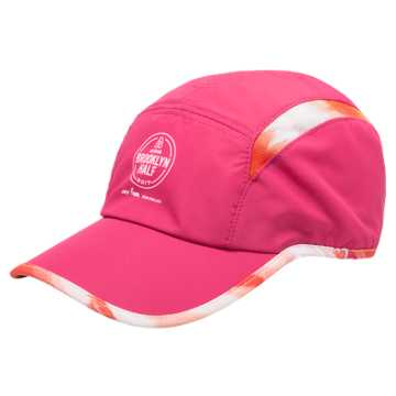New Balance Run Cap, Pink Shock