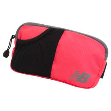 New Balance Performance Waist Pack, Vivid Coral Pink