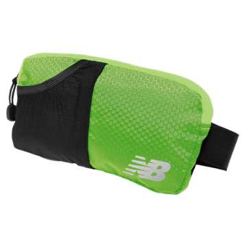 New Balance Performance Waist Pack, Energy Lime with Black