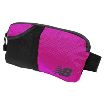 New Balance Performance Waist Pack, Poisonberry with Black