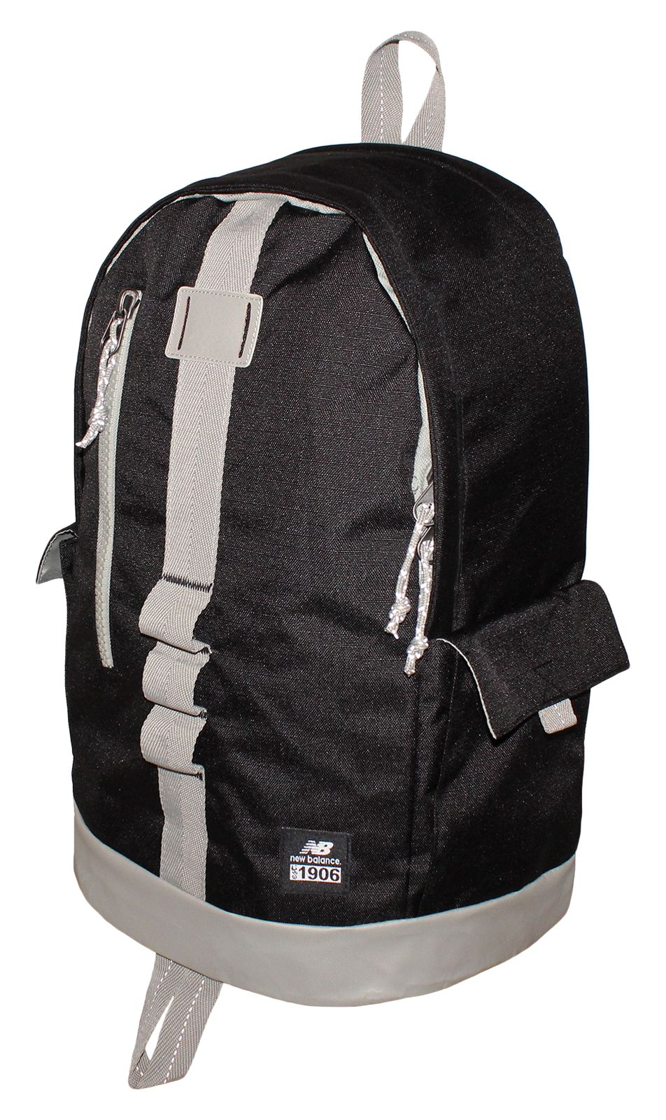 NB Lifestyle Backpack, Black with Stone Grey