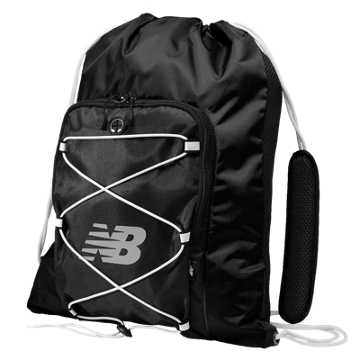 New Balance Media Cinch Sack, Black