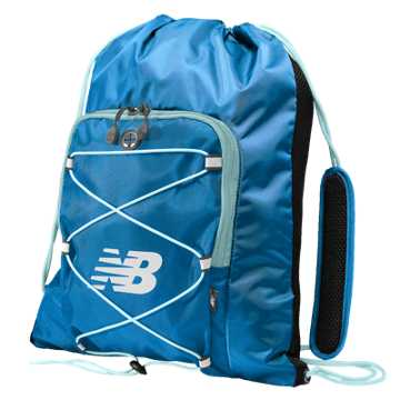 New Balance Media Cinch Sack, Blue