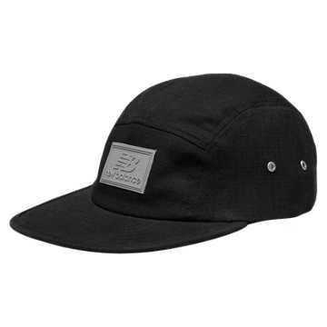 New Balance 5 Panel Ripstop Camper, Black