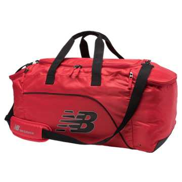 New Balance Large Performance Duffel, Red