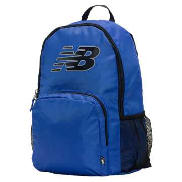 New Balance Daily Driver II Backpack, Blue with Black