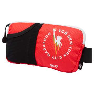 New Balance NYC Marathon Performance Waist Pack, Red