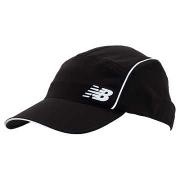 New Balance Laser Perforated Run Hat, Black