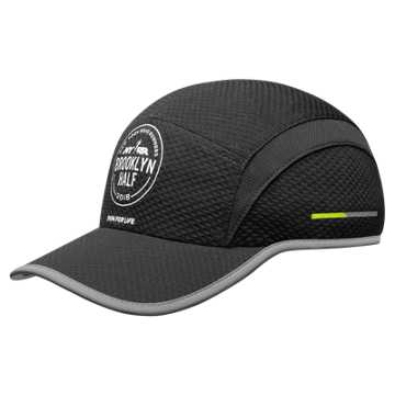 New Balance Brooklyn Half Cap, Black