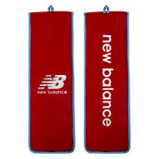 New Balance Bat Cover Half, Red with Yellow