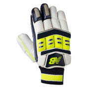NB DC880 Gloves, Blue with Neon Green