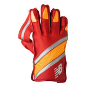 New Balance TC1260 Glove, Red with Yellow