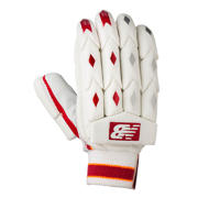 New Balance TC860 Gloves, Red with Yellow