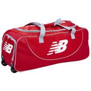 New Balance TC560 Junior Wheelie Bag, Red with White