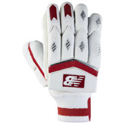 New Balance TC660 Gloves, Red with Silver