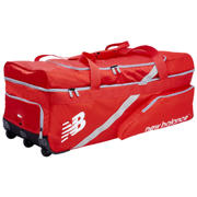 New Balance TC860 Large Wheelie Bag, Red with White