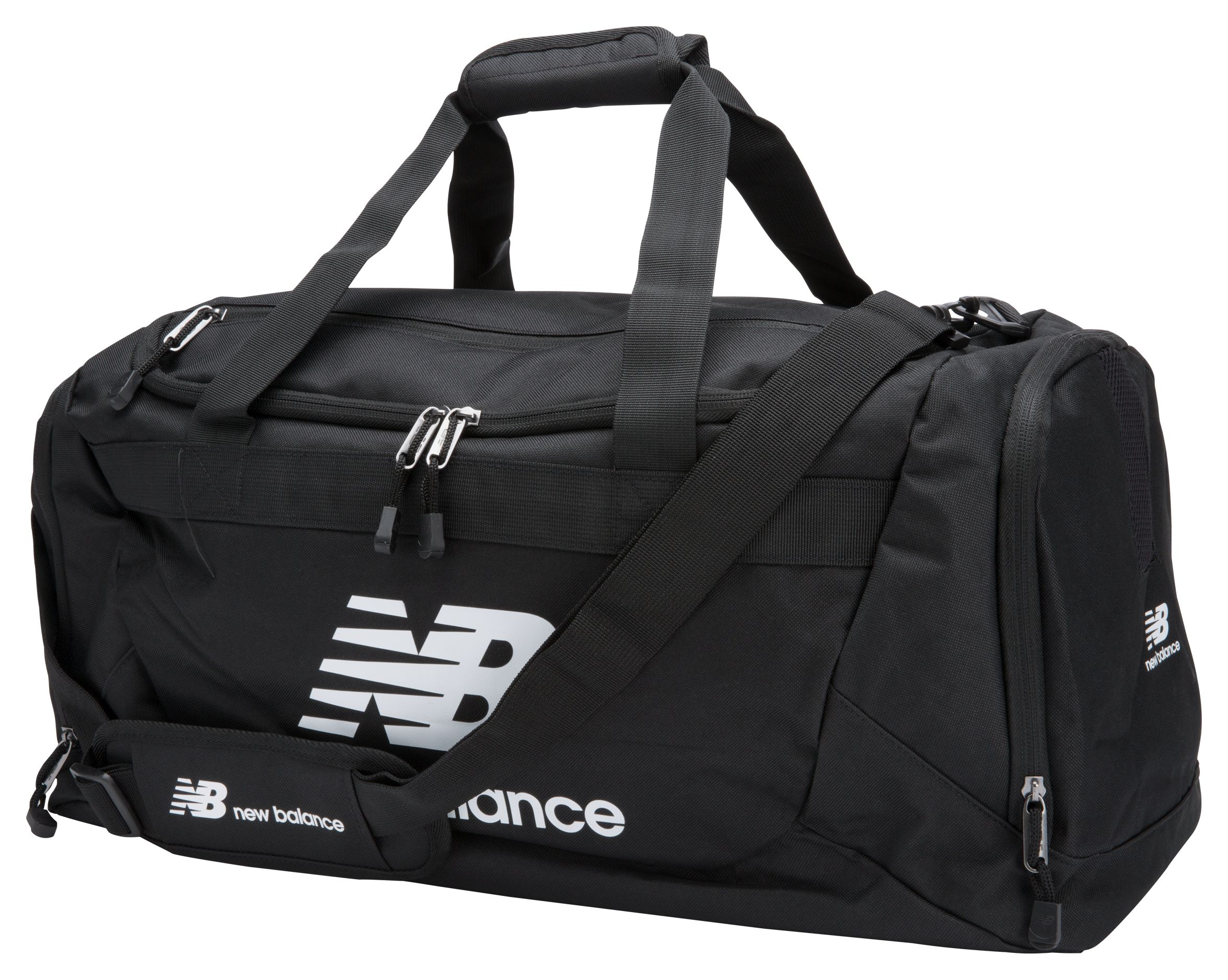 NB Solar Holdall-Large, Black with White