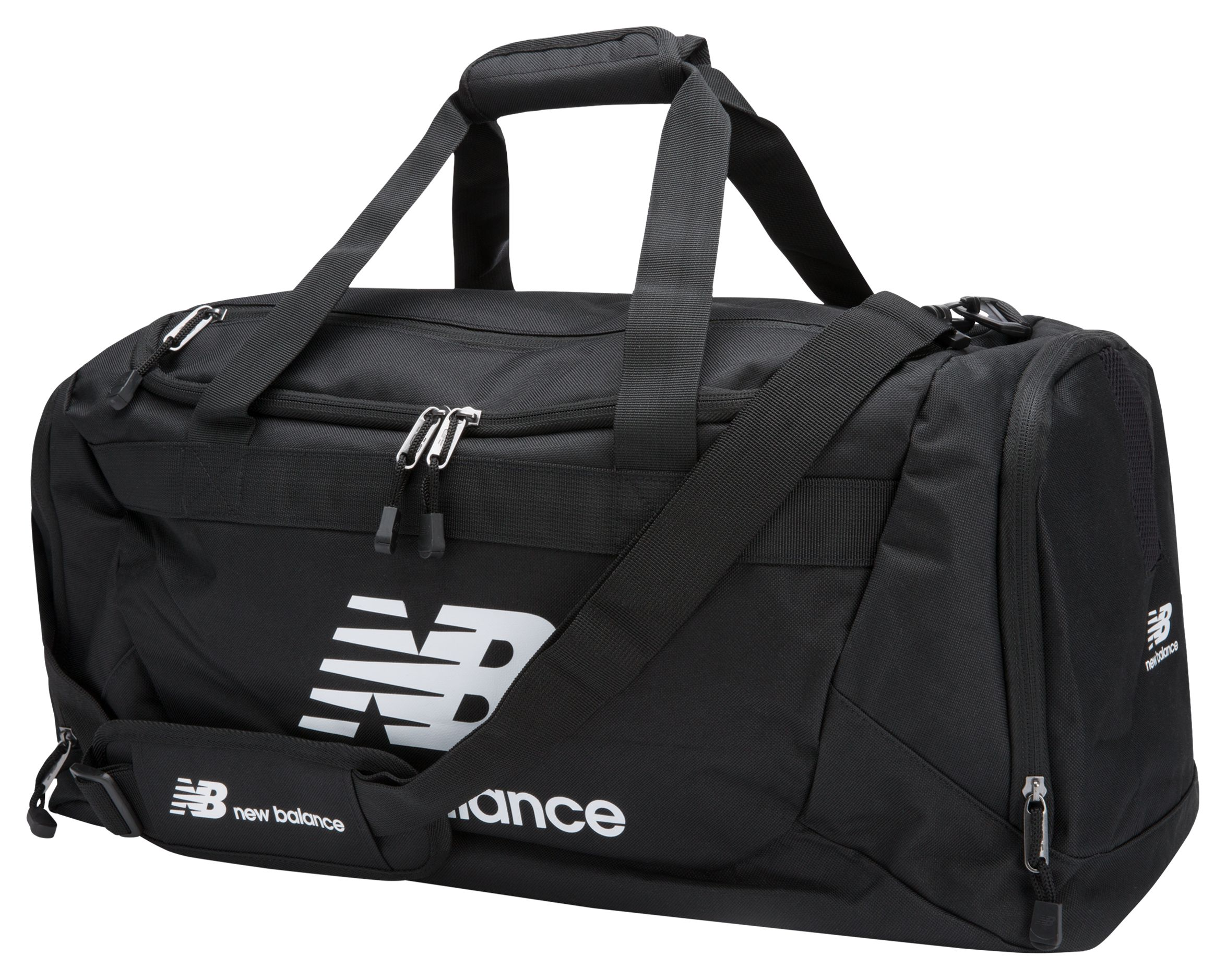 NB Solar Holdall-Medium, Black with White