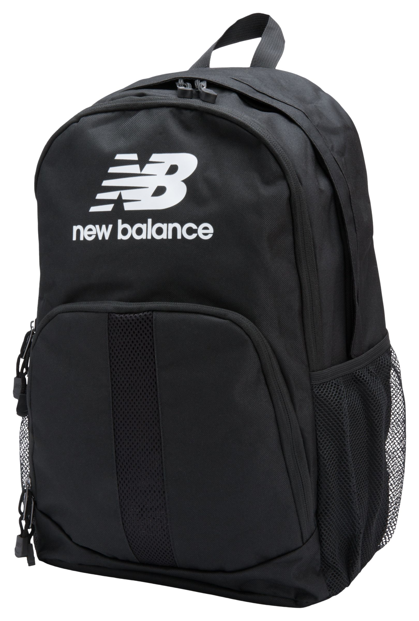 NB Solaris Backpack, Black with White