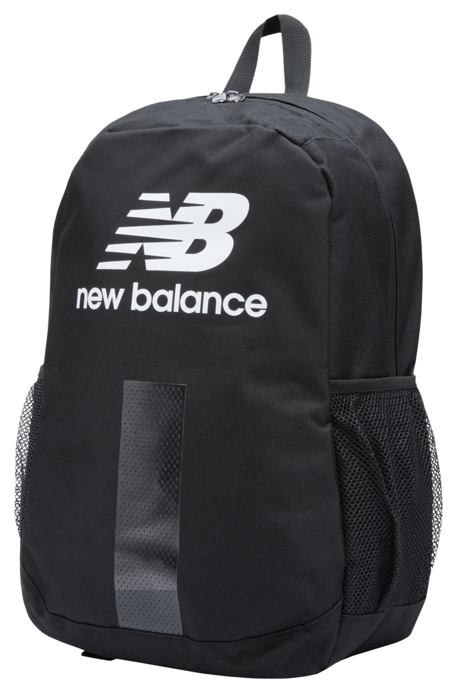 NB Eclipse Backpack, Black with White