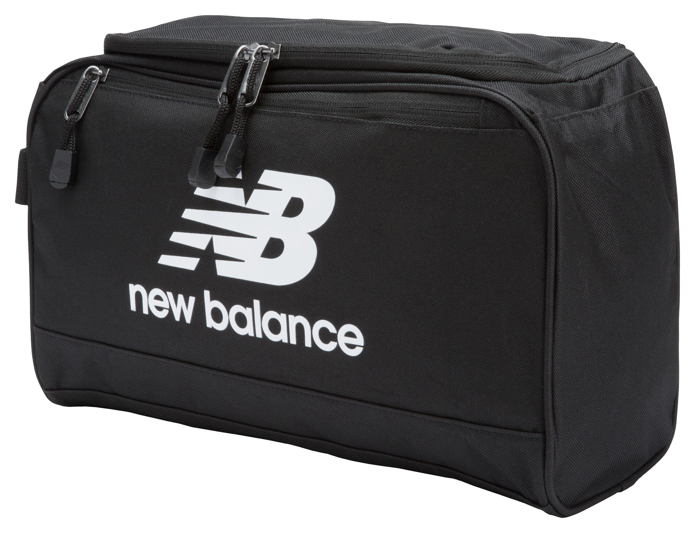 NB Solar Twin Shoebag, Black with White
