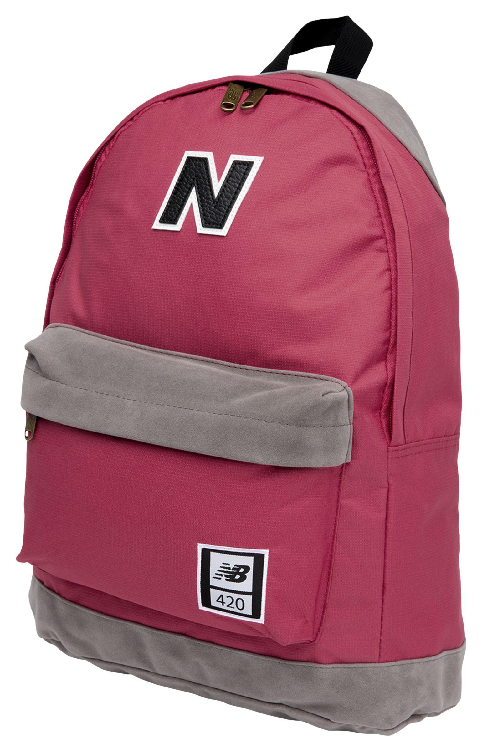 NB 420 Backpack, Burgundy