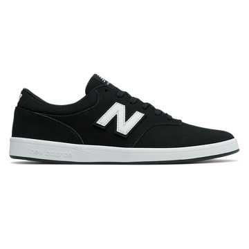 New Balance 424系列滑板鞋, 黑色