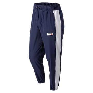 New Balance 男款梭织长裤 条纹设计  , PGM