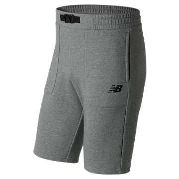 New Balance 男针织短裤, HGR