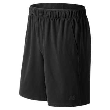 New Balance 针织短裤 男款  舒适面料 运动休闲, BK
