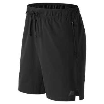 New Balance 男子梭织短裤 舒适面料 运动休闲, BK