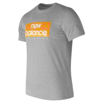 New Balance 男针织上衣, HGR