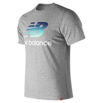 New Balance 男款炫目霓虹系列短袖T恤, AG