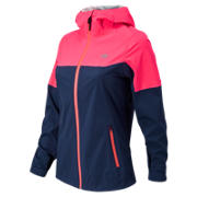 NB Cosmo Proof Jacket, Sailor Blue with Pink Zing