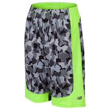 New Balance Fashion Performance Short, Lime Glo