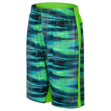 New Balance Fashion Performance Short, Energy Lime