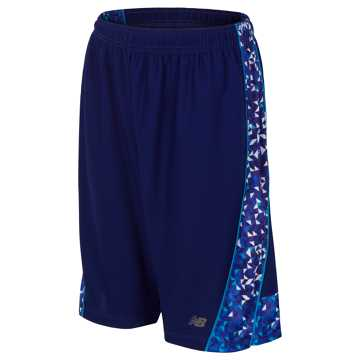 New Balance Fashion Performance Short, Basin with Maldives Blue