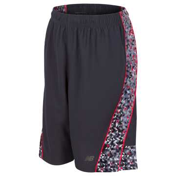 New Balance Fashion Performance Short, Thunder with Flame