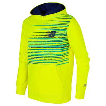 New Balance Graphic Hoodie, Firefly with Basin