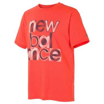 New Balance Athletic Graphic Tee, Alpha Orange