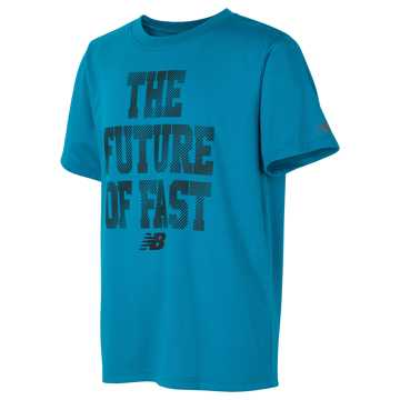 New Balance Athletic Graphic Tee, Ozone Blue