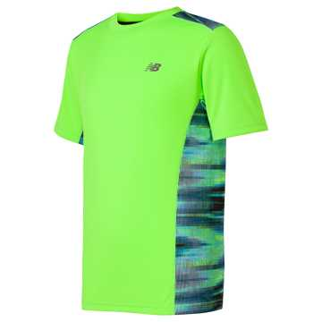New Balance Short Sleeve Performance Tee, Energy Lime