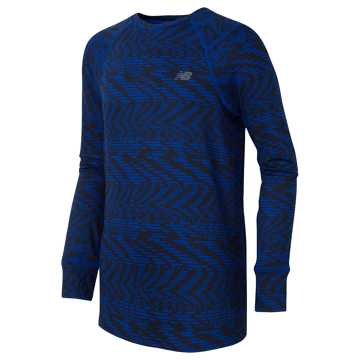 New Balance Long Sleeve Performance Tee, Pigment