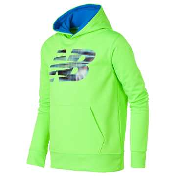 New Balance Graphic Hoodie, Energy Lime