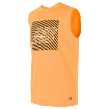 New Balance Sleeveless Graphic Tee, Impulse