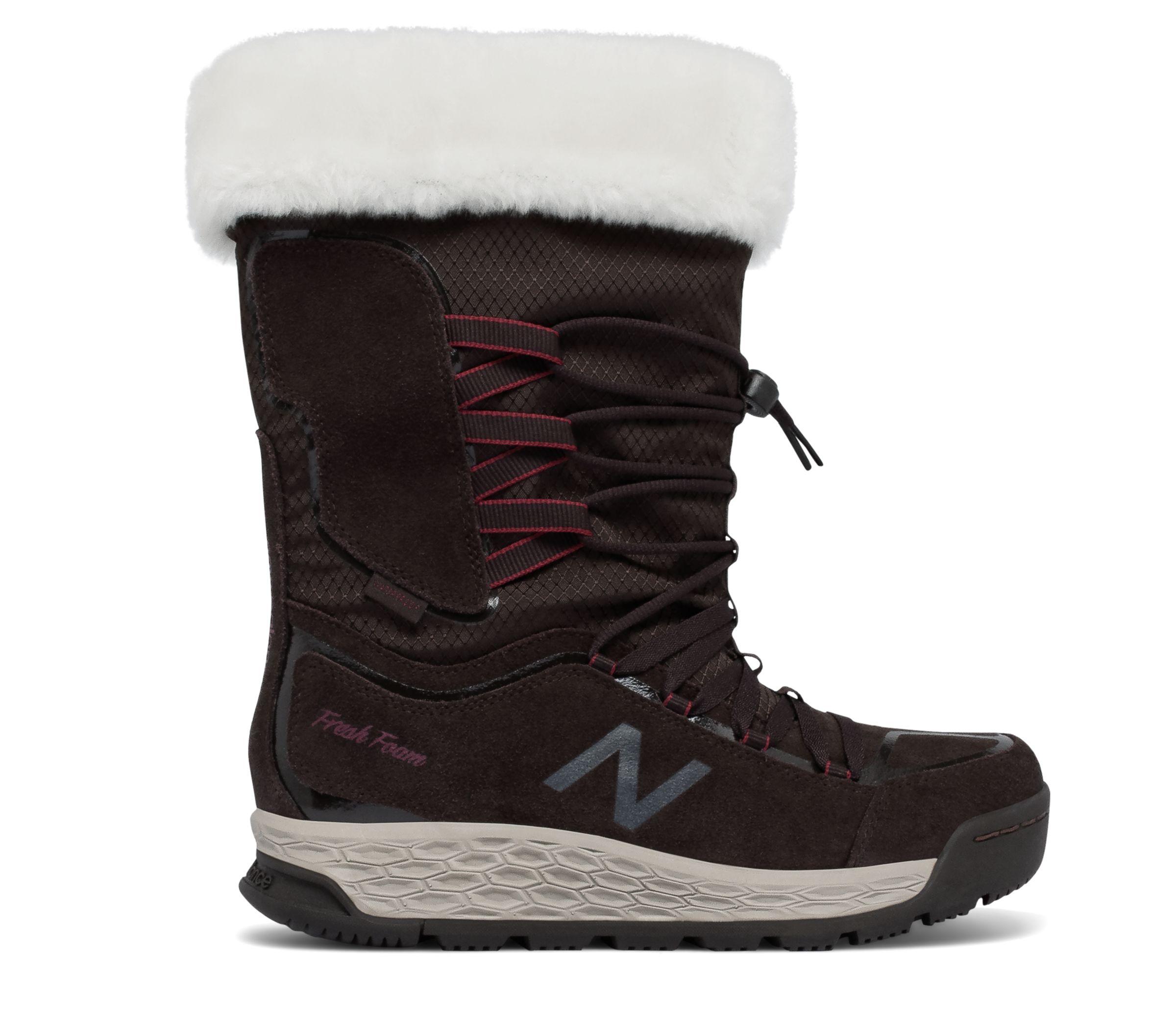 NB Fresh Foam 1000 Boot, Brown with Sedona