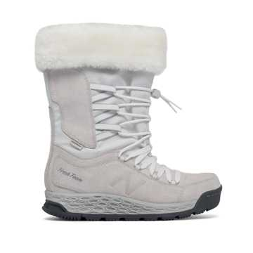 New Balance Fresh Foam 1000 Boot, White with Lead