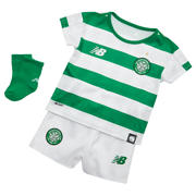 NB Celtic FC Home Baby Kit - Set, White with Celtic Green