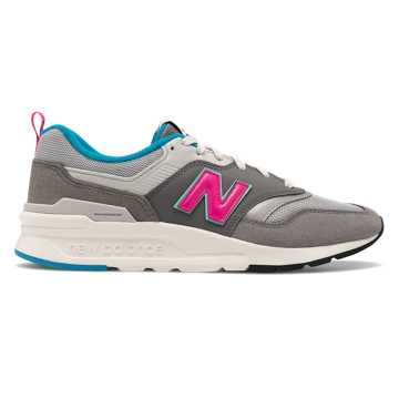 New Balance 青春有你同款 997H 中性款 轻质舒适 个性时尚, 灰色